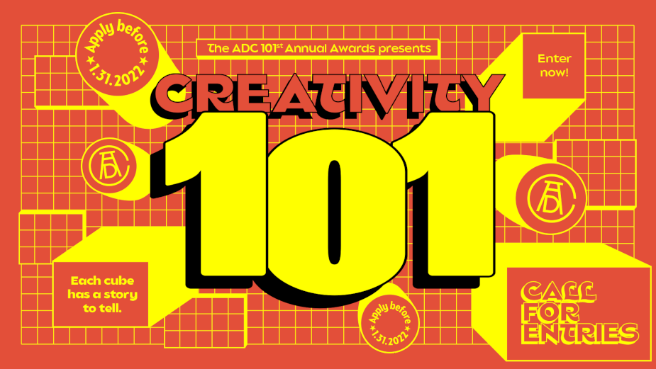 ADC 101st Annual Awards Launches with 'Creativity 101' Campaign by DDB Paris