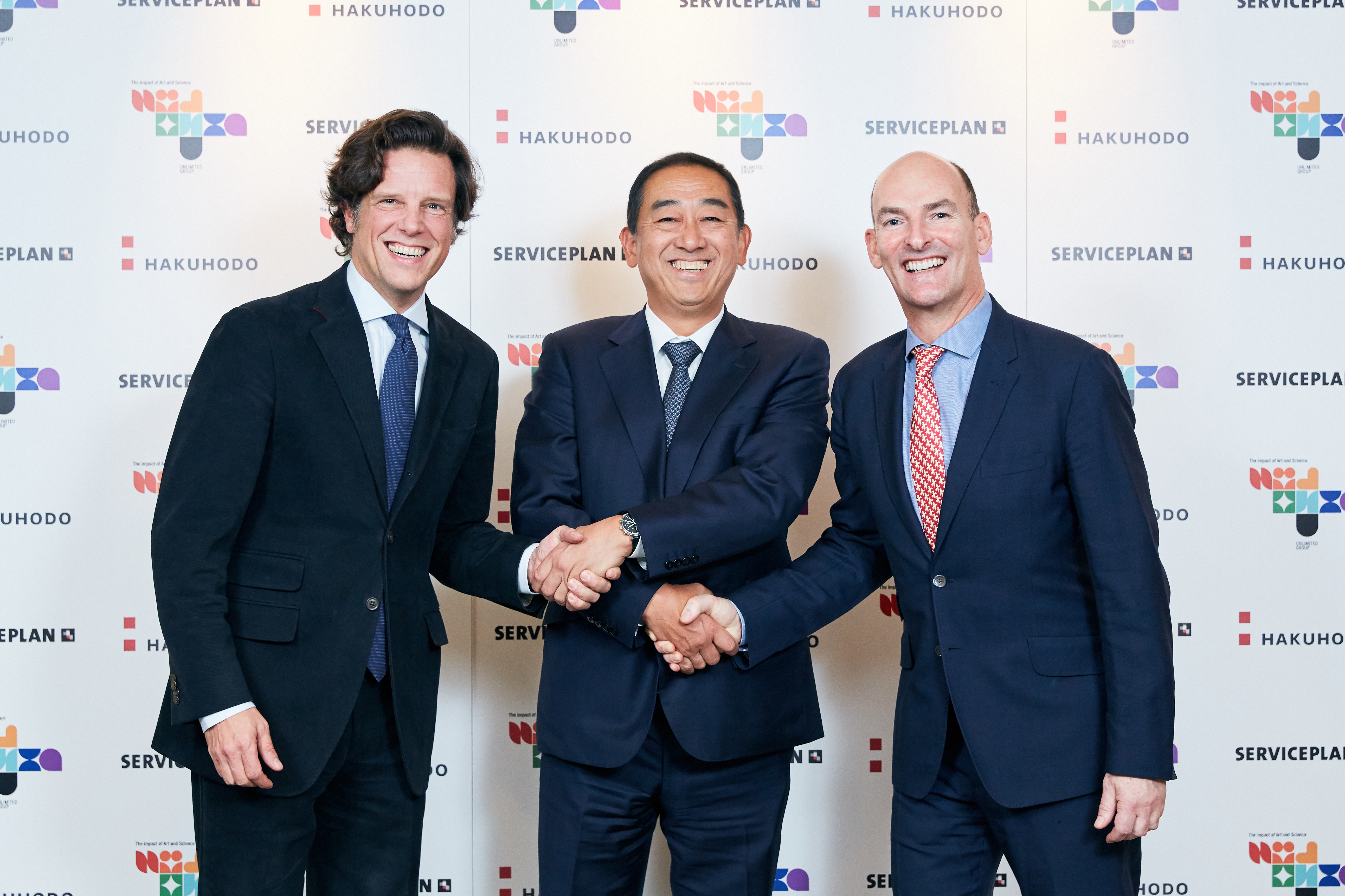 Serviceplan Group, The Unlimited Group and Hakuhodo Form Strategic Alliance