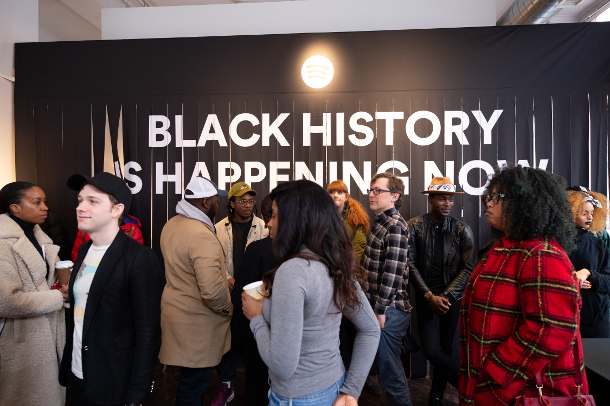 Spotify and Saturday Morning Launch 'Wear Black History' Merch Collection