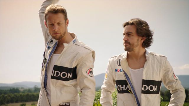 Chandon launches new campaign with McLaren Honda Racing Drivers for Australian Grand Prix