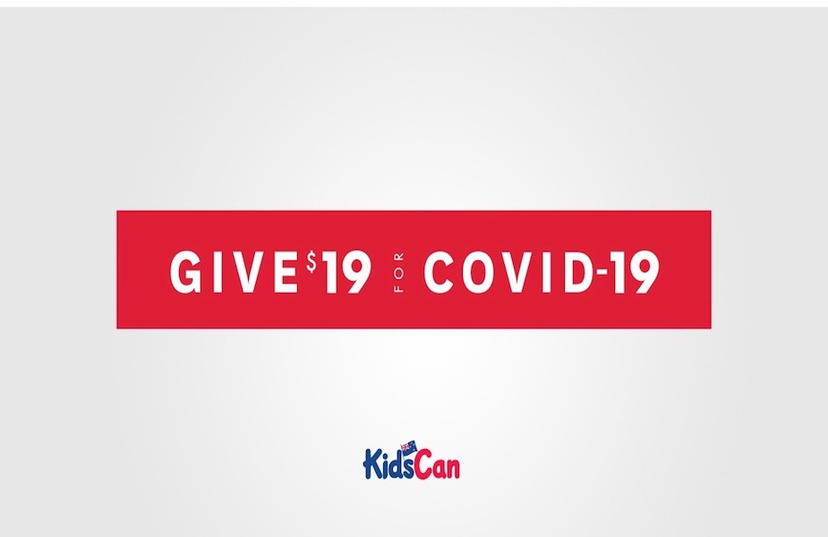 KidsCan and DDB NZ Launch New '$19 for Covid-19' Appeal Campaign