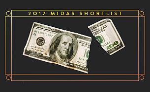 Midas Awards for World's Best Financial Advertising Announces 2017 Shortlist