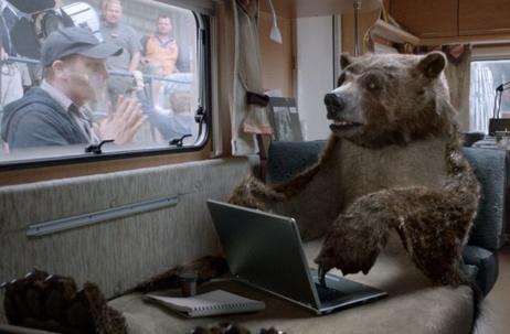 "BETC wins the Grand Prix Film Craft for ""The Bear"""