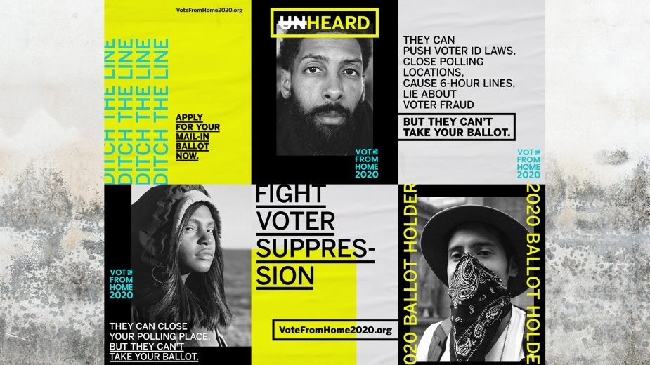 Duncan Channon's 'Suppress This' Campaign Fights Voter Suppression with Striking Design and Photography