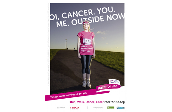 Race for Life Campaign Stands Up to Cancer