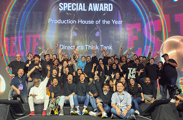Directors Think Tank Wins Production House of the Year at the Kancil Awards for Second Year in a Row