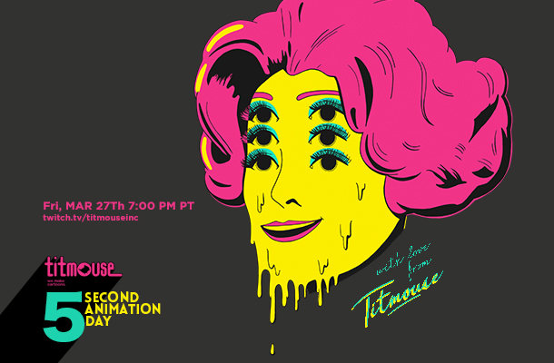 Titmouse Artists Premiere 5 Second Day Shorts on Twitch