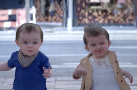 Your Shot: evian 'Baby&Me'