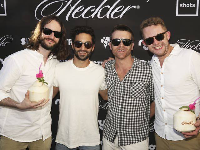 Heckler celebrates 5th bithday with exclusive party at Watsons Bay Hotel in Sydney