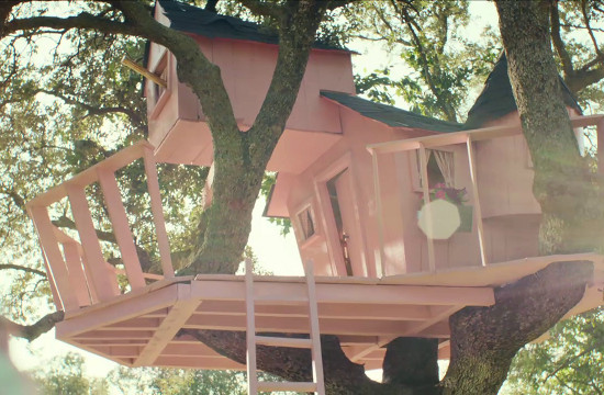 JWT London's Tree Palace for HSBC