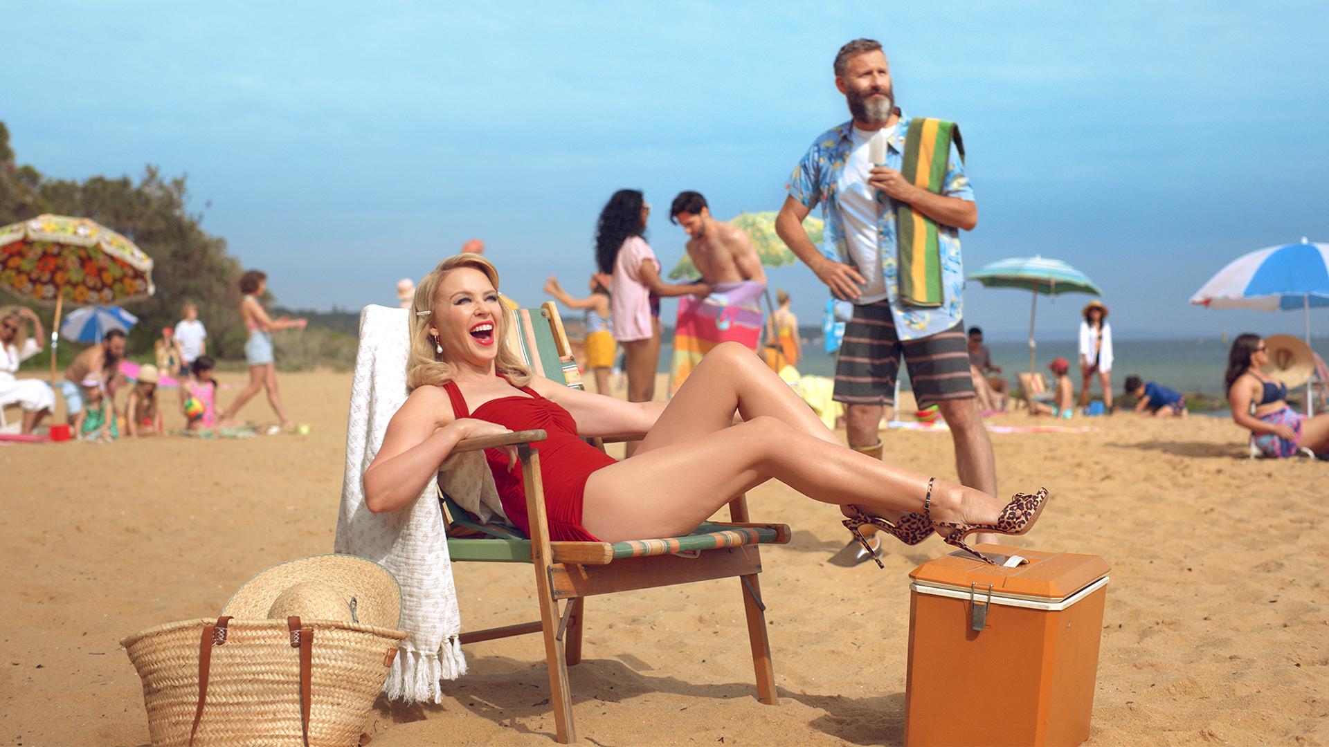 Kylie Minogue Invites Brits Down Under in New Tourism Australia Ad