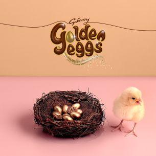 Mars Hatch Eggstra-Cute Campaign to Celebrate Return Of Galaxy Golden Eggs