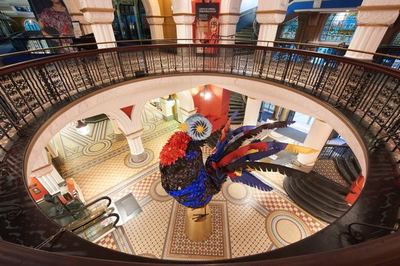 QVB Enlists Help From a Giant Rooster for Lunar New Year Campaign