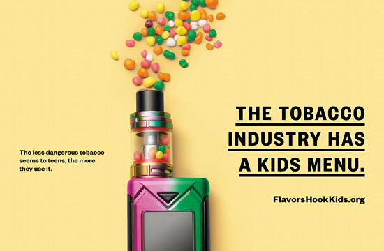 This Striking Campaign Takes Aim at the Tobacco Industry's Latest Deception