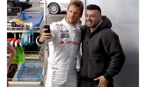 Jenson Button Gets Personal in AMV BBDO's Car Wash Prank