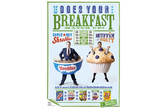 McCann London creates 'Battle of the Breakfasts' for Cereal Partners