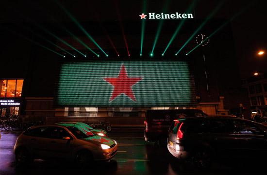 Heineken Ignites its Home City