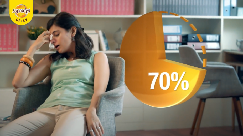 Multivitamin Brand Supradyn's First-ever Consumer Campaign Encourages India to Reach its 100% Potential