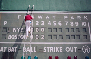 Benjamin Moore Unleashes Fenway Park's Green Monster to Little League Grounds