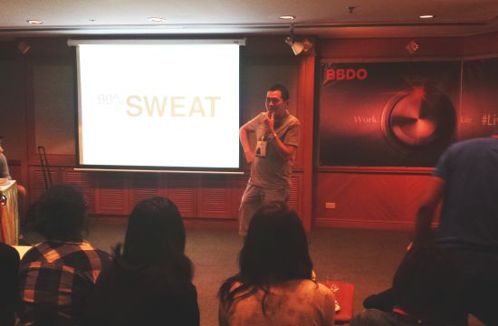 Why Advertising is 99% Sweat
