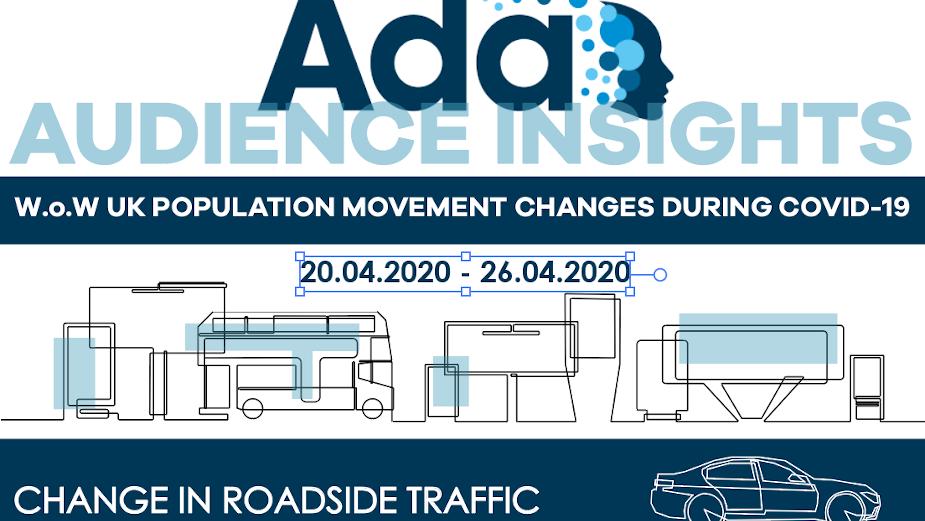 Ada Analysis Finds UK Traffic Steadily Increasing During Week Five of Covid-19 Lockdown