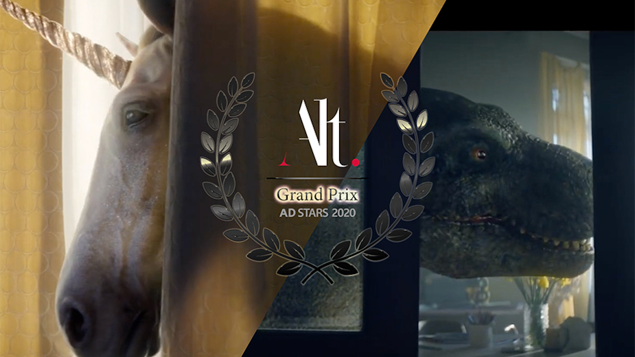 Alt.vfx Wins Grand Prix at AD STARS 2020 for 'Film Level VFX' on AA Insurance