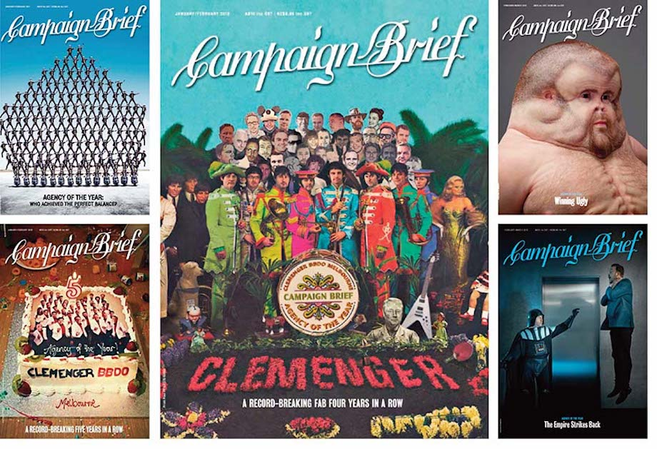 Clemenger BBDO Melbourne Named Campaign Brief Australian Advertising Agency of the Decade
