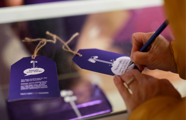 Members of the Public Donate Words in Heartwarming Age UK Campaign from VCCP and Cadbury
