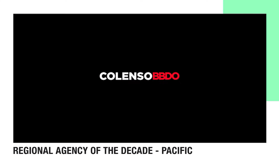 Colenso BBDO Named Cannes Lions Festival of Creativity Pacific Agency of the Decade