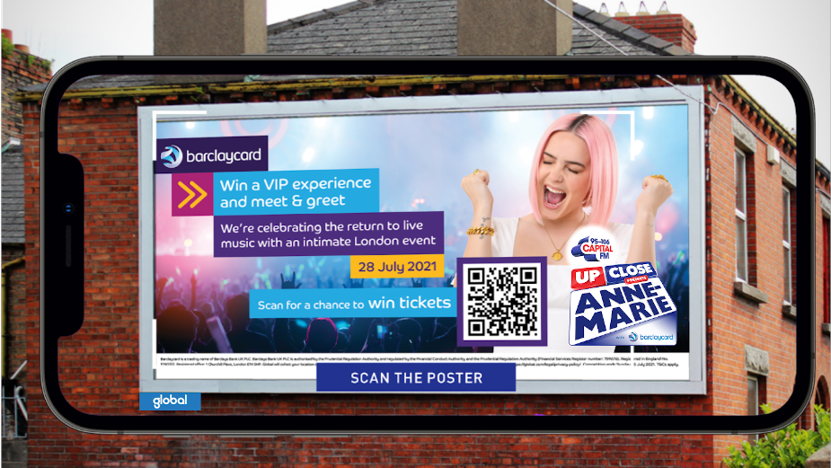 Singer Anne-Marie Launches Global and Barclaycard's Summer Gig Series with AR Campaign