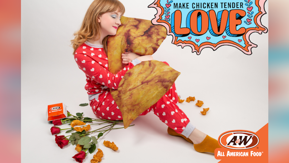 A&W Wants to Make Chicken Tender Lovin' Not Chicken Sandwich War in New Campaign