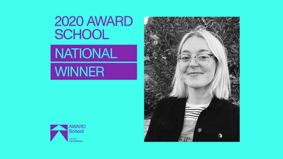Oli Nicholson Named AWARD School 2020 National Top Student