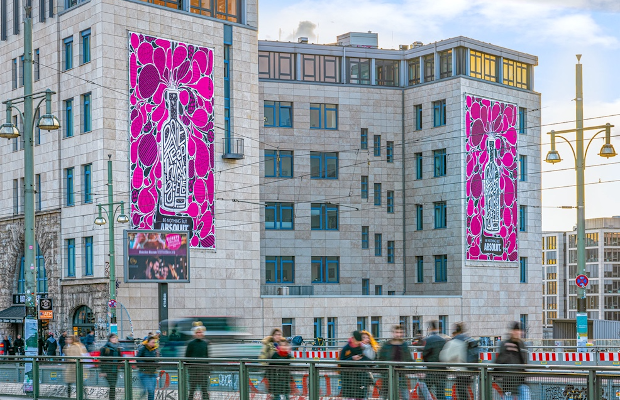 Absolut Announces Creative Competition Winner with Berlin Display