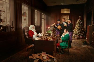 Santa Tries to Decipher Kiwi kids' Christmas Requests in New Spot for Air NZ via Host/Havas