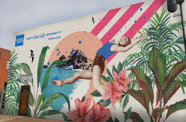 American Express Campaign Features London Street Artist Josephine Hicks