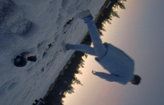 Oliver Malcolm Takes a Trip Through the Snowy Mountains for Switched Up Video