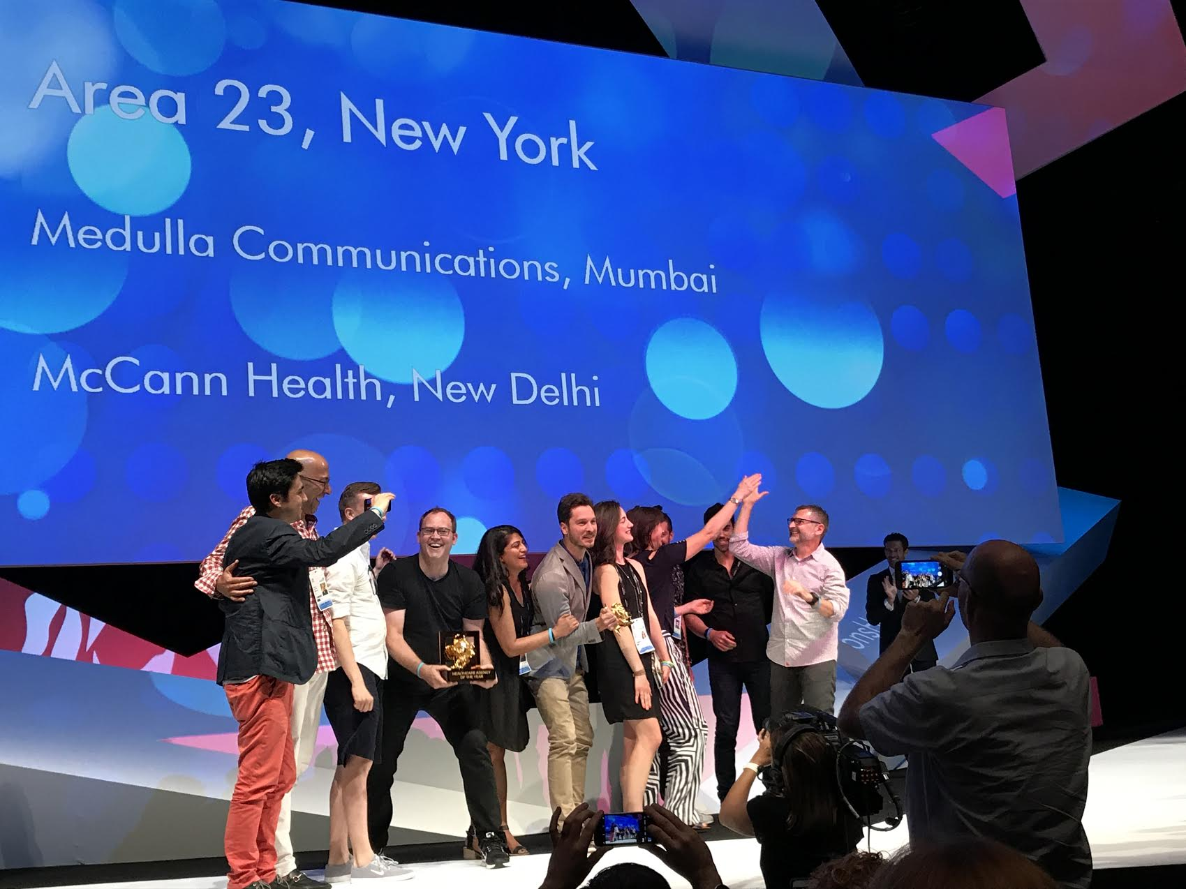 """FCB's Area 23 Named """"Healthcare Agency of the Year"""" at 2017 Cannes Lions Health Festival"""