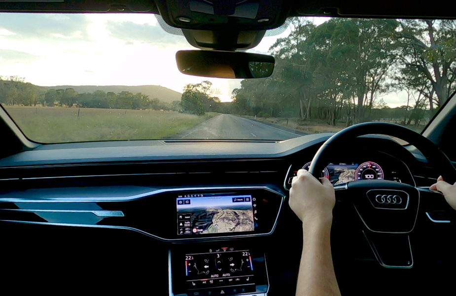 Audi Takes a Four Hour Slow Drive Through the Australian Countryside