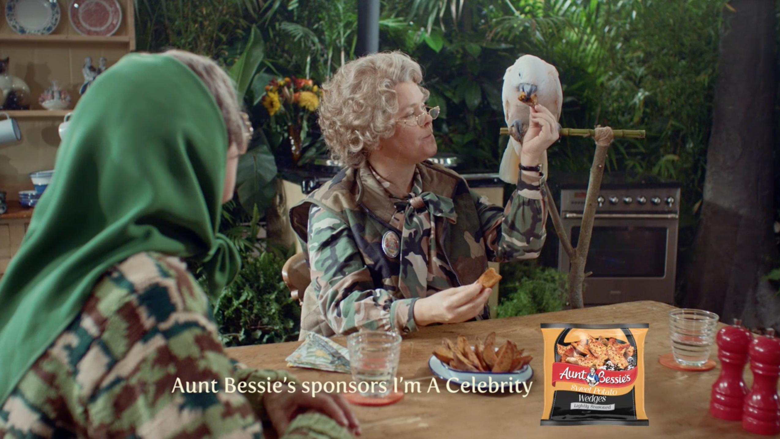 St Luke's Creates New Idents for Aunt Bessie's Sponsorship of I'm a Celeb