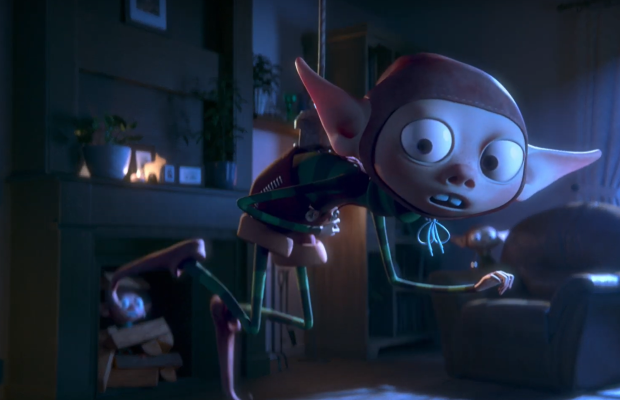 Adorable Elves Save Christmas in Festive Manor Ad From BETC