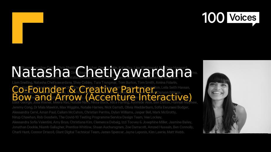 BIMA100 Voices: Natasha Chetiyawardana