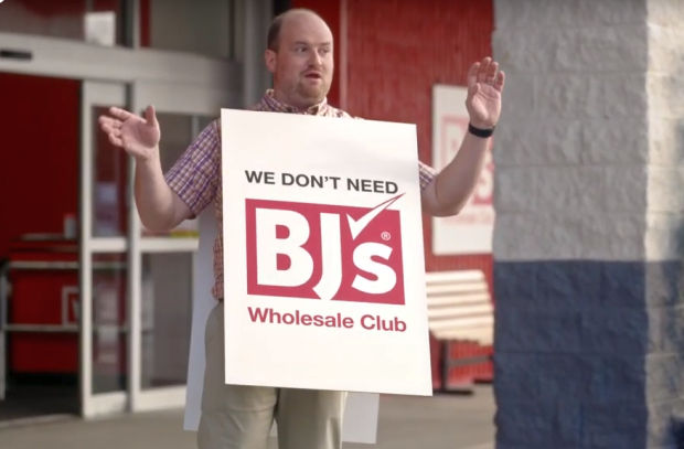 BJ's Brings a Fresh Approach to Wholesale Clubs with Humorous Spots