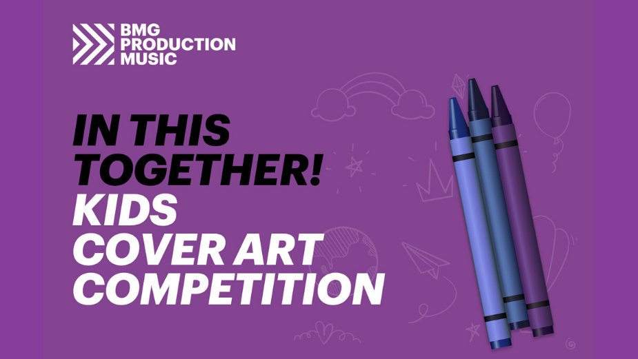 BMGPM Are Inviting Kids of Creatives to Design Cover Art for New Album