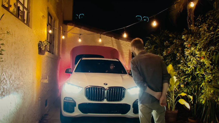 BMW Takes Date Night to the Next Level as the Ultimate Drive-In Machine