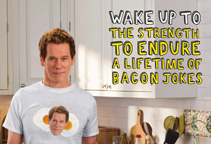 Kevin Bacon Stars in Spot for Eggs. (And No, That's Not Just a Pun.)