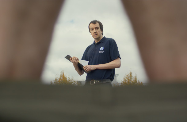 'You Get Your Van Checked'... Volkswagen Ad Promotes Checking for Testicular Cancer