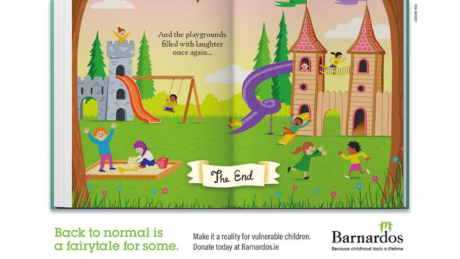 Barnardos Reminds Us Life After Lockdown isn't Always a Fairytale