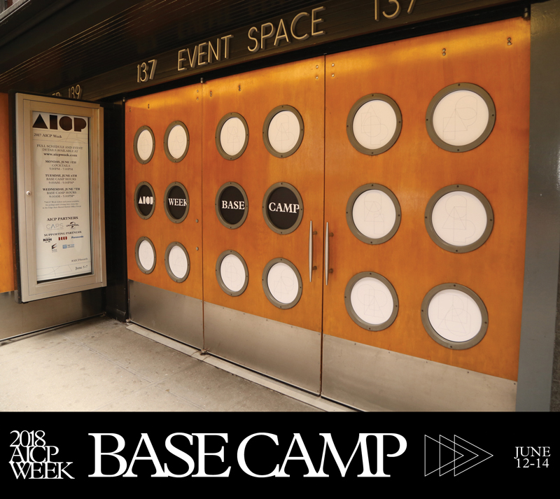 AICP Week's Popular Base Camp Returns with Stellar Line-Up of Panels and Activities