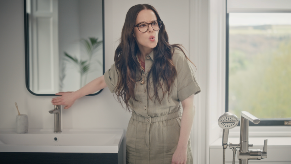 Emily Hampshire Reveals Delta Faucet's Newest Collections in The Real Life Showroom Live Stream
