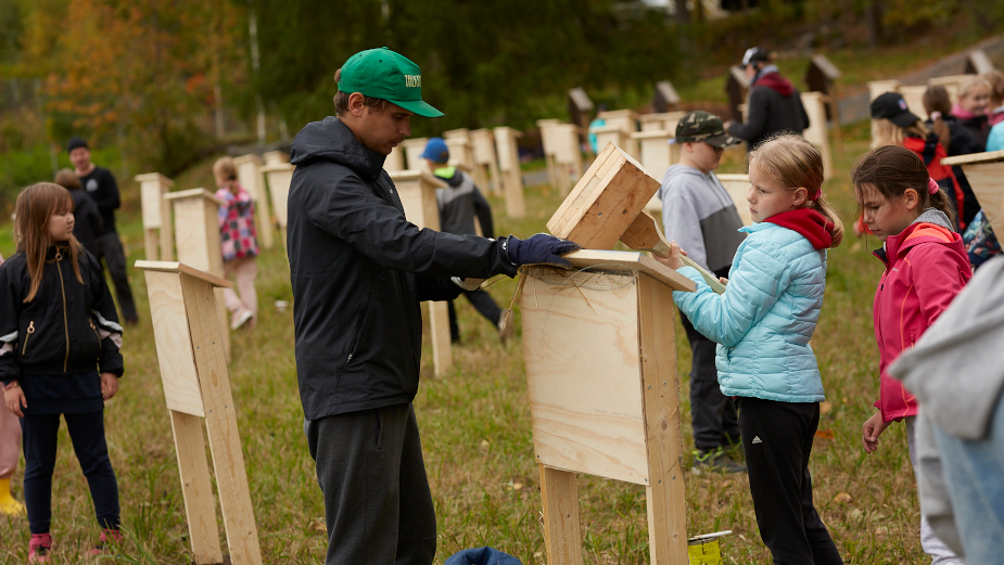 Un-bee-lievable! Finland Opens the World's Largest 'Air Bee and Bee'